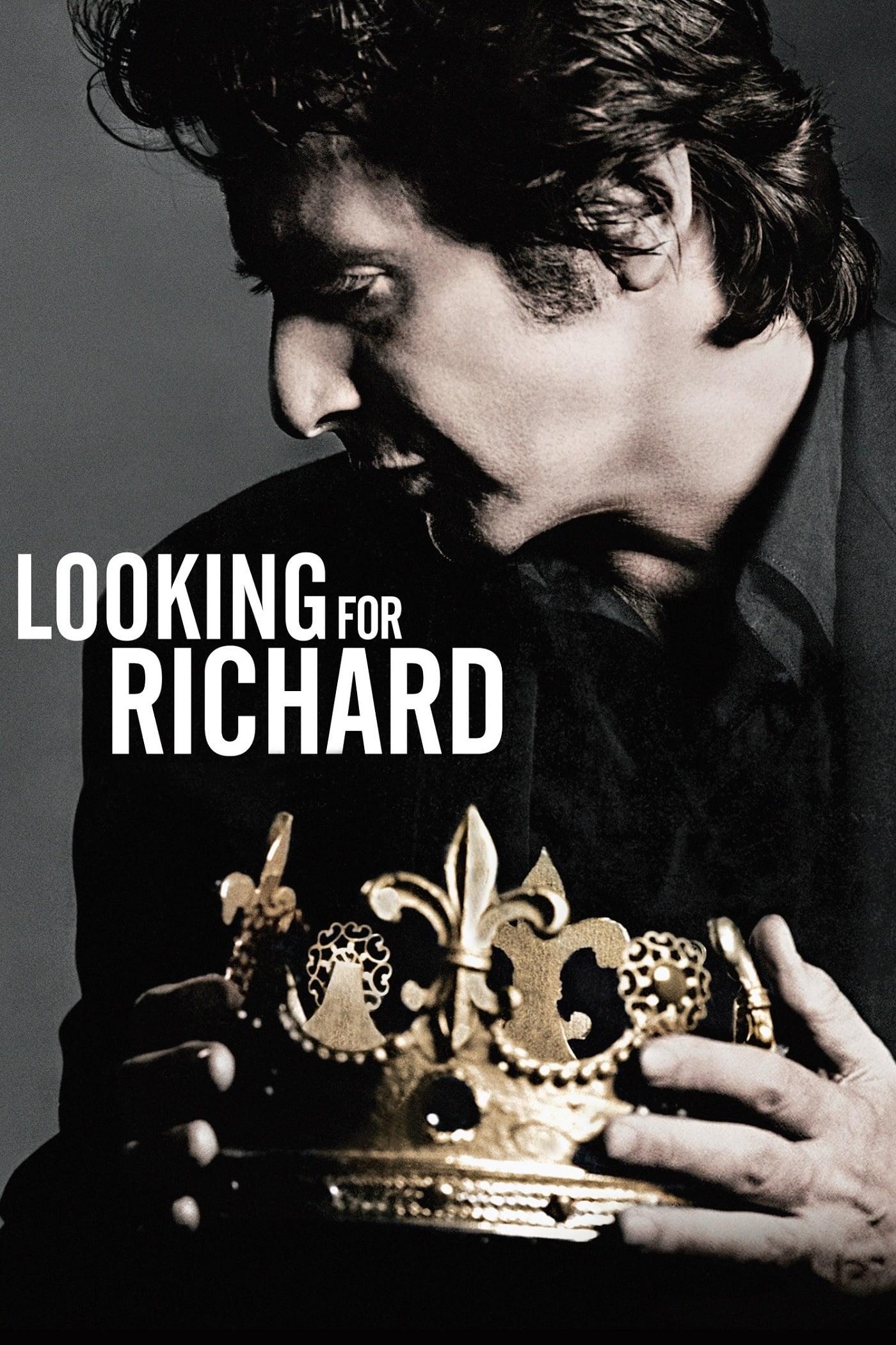 """Plakat von """"Al Pacino's Looking for Richard"""""""