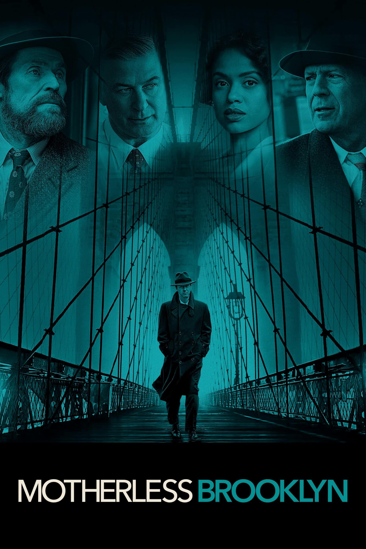 "Plakat von ""Motherless Brooklyn"""