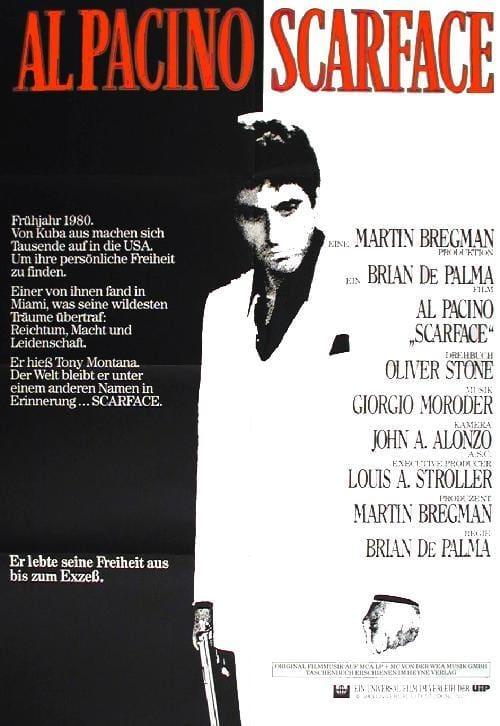 """Plakat von """"Scarface"""""""