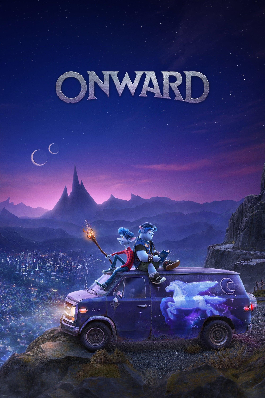 """Plakat von """"Onward"""""""
