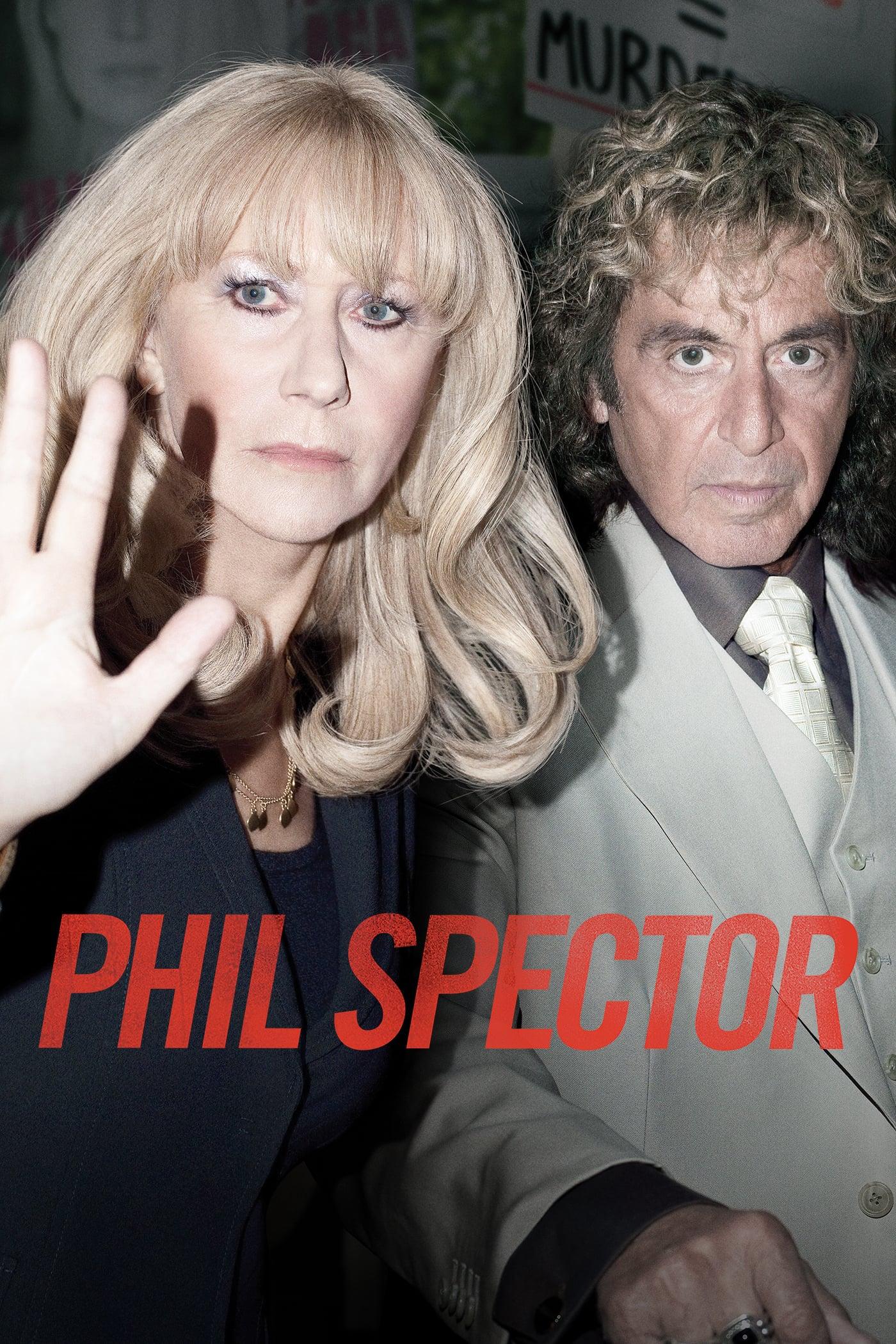 """Plakat von """"Der Fall Phil Spector"""""""