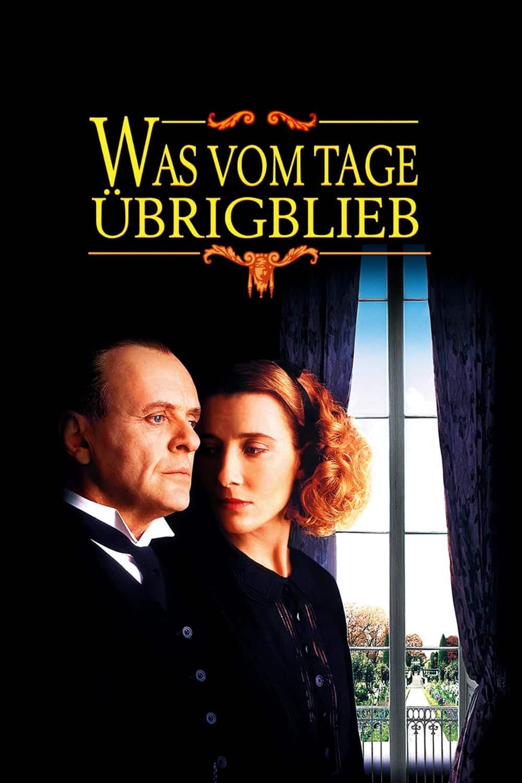 """Plakat von """"Was vom Tage übrig blieb"""""""