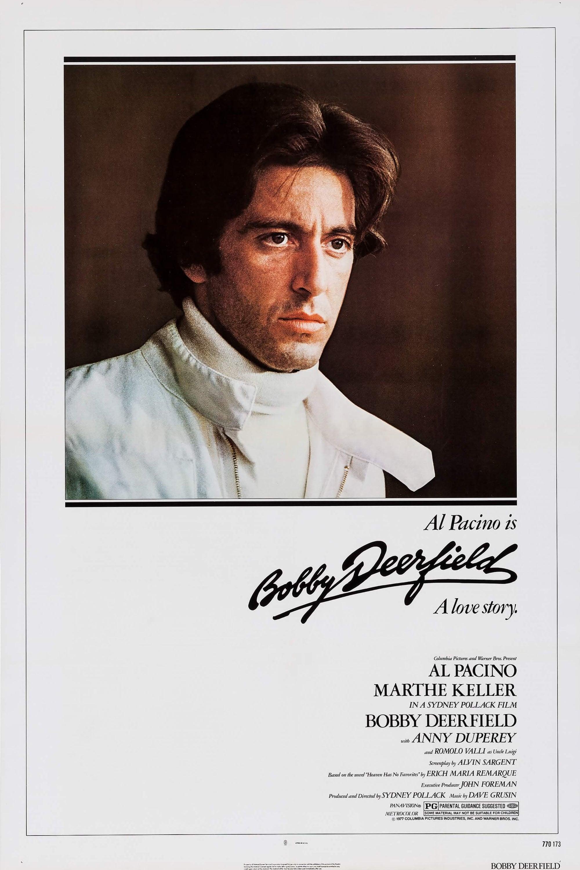 """Plakat von """"Bobby Deerfield"""""""