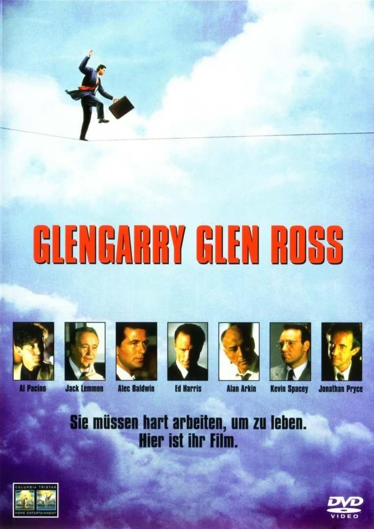 "Plakat von ""Glengarry Glen Ross"""