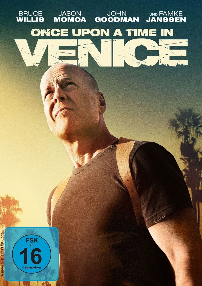 """Plakat von """"Once Upon a Time in Venice"""""""