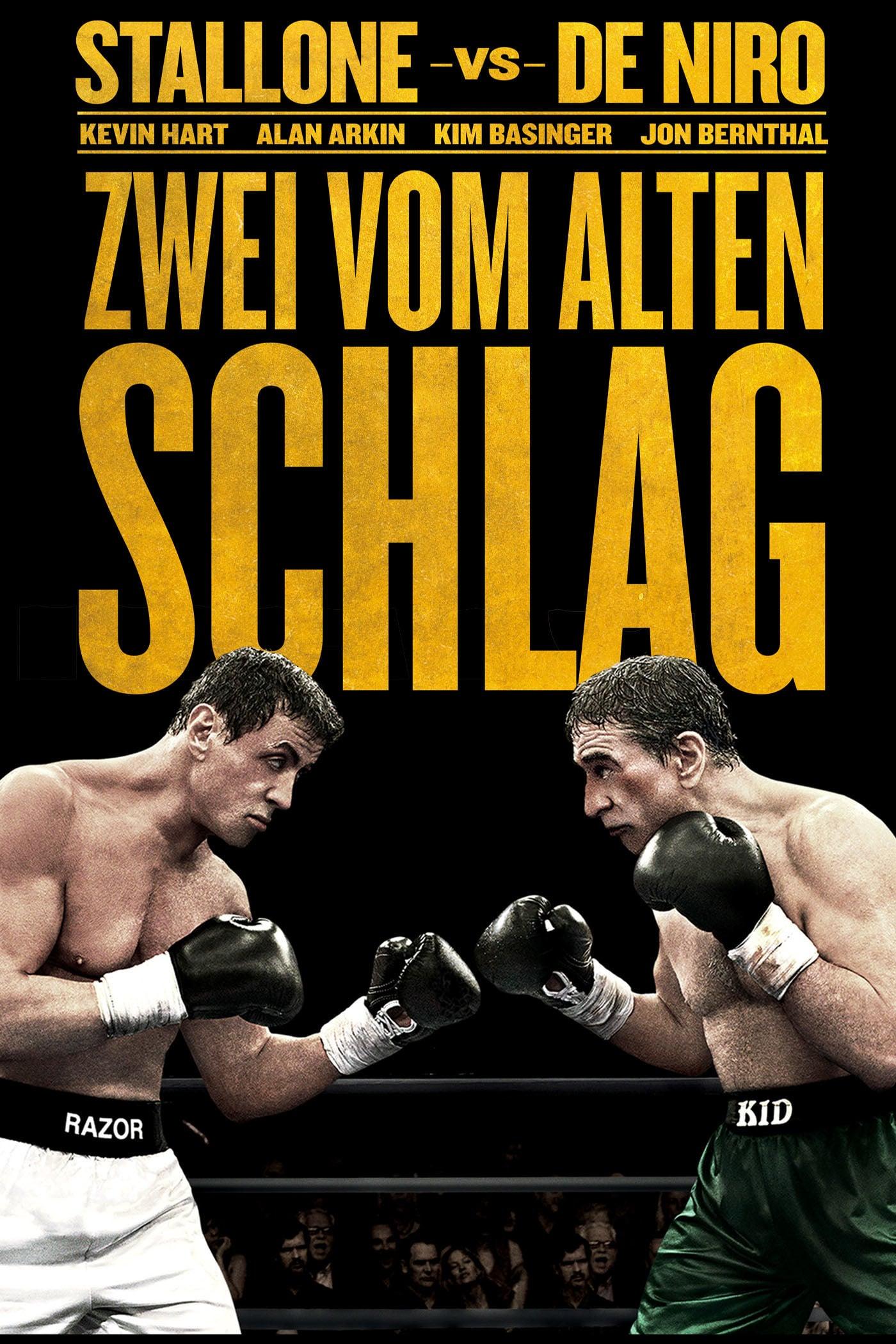 """Plakat von """"Zwei vom alten Schlag"""""""