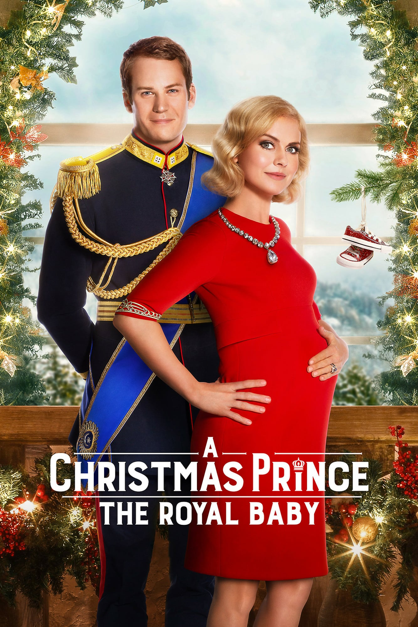 "Plakat von ""A Christmas Prince: The Royal Baby"""