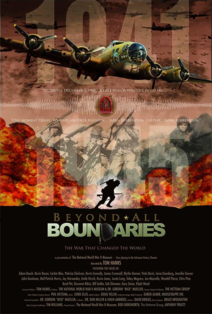 """Plakat von """"Beyond All Boundaries"""""""