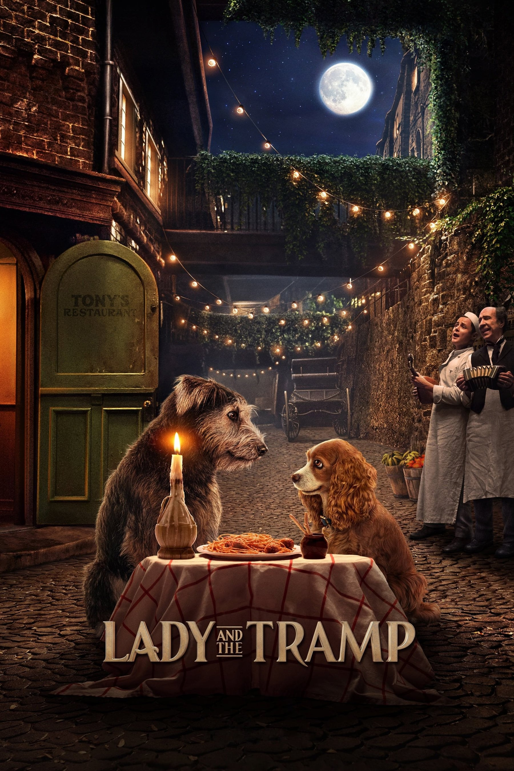 "Plakat von ""Lady and the Tramp"""