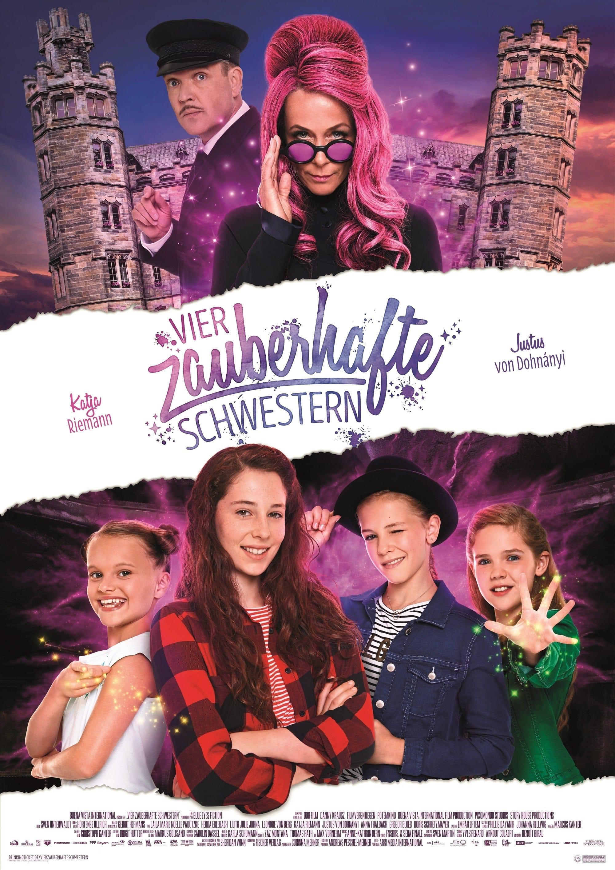 """Plakat von """"Sprite Sisters - Vier zauberhafte Schwestern"""""""