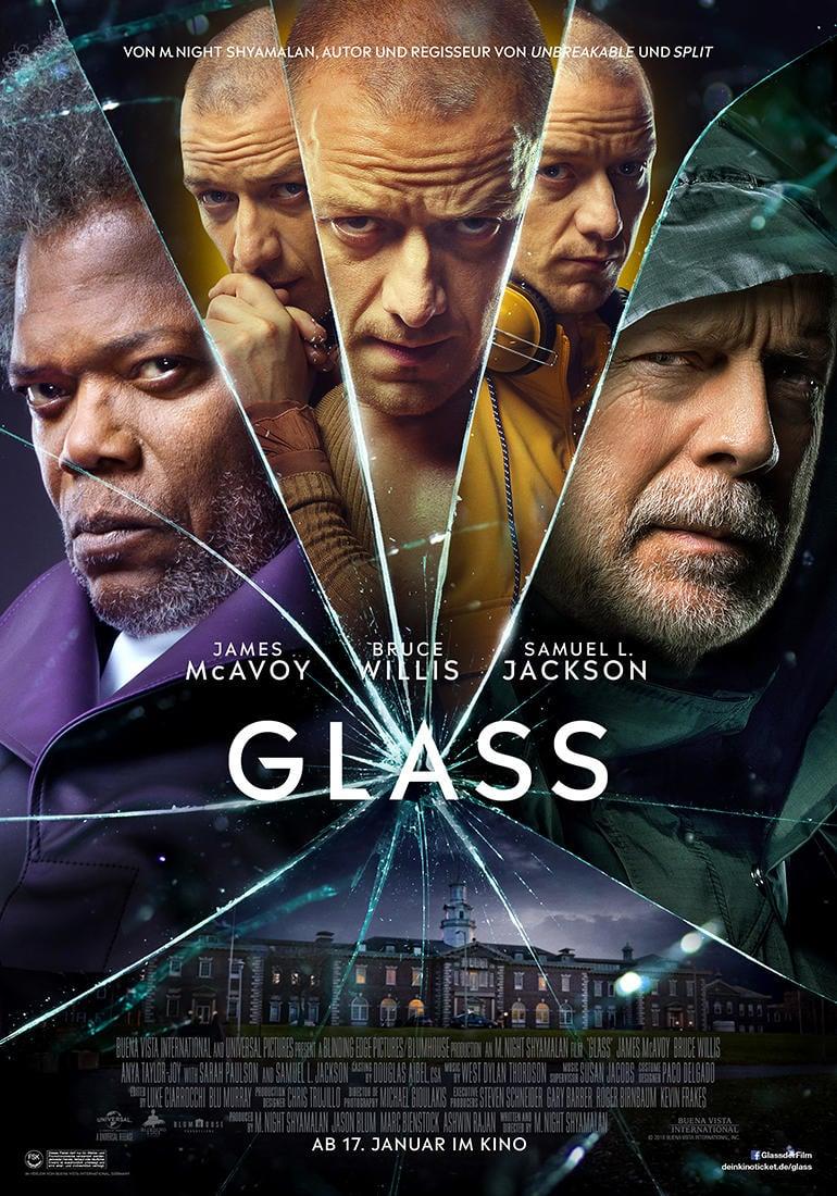 """Plakat von """"Glass"""""""