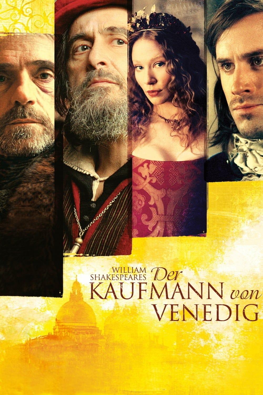 """Plakat von """"Der Kaufmann von Venedig"""""""