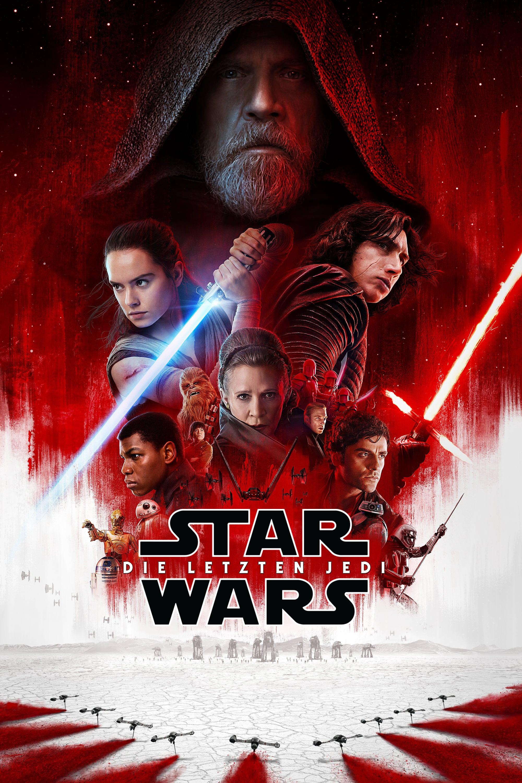 """Plakat von """"Star Wars: Die letzten Jedi"""""""