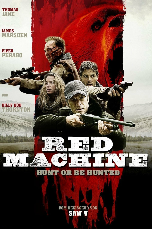 "Plakat von ""Red Machine - Hunt or be Hunted"""