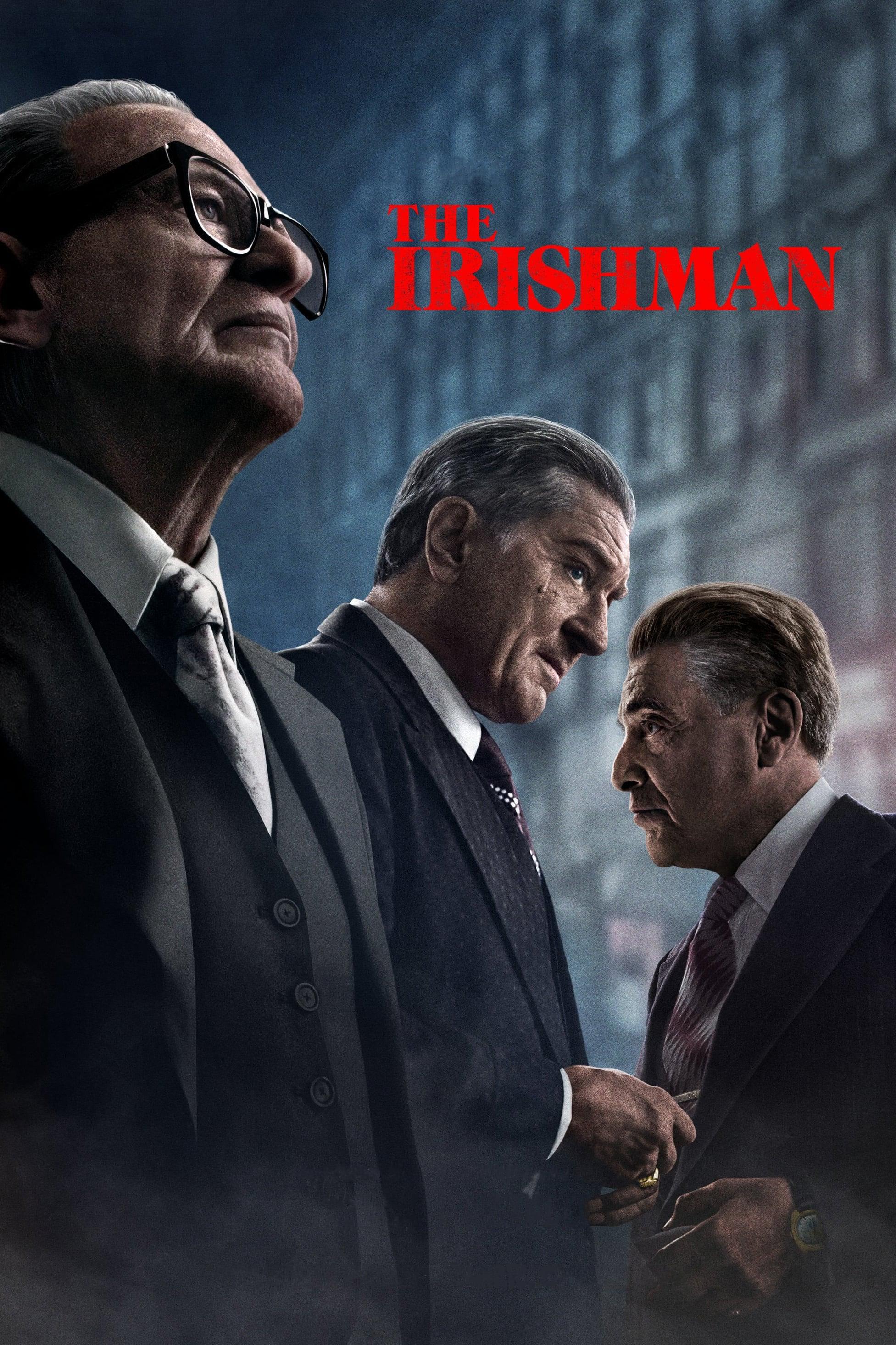 """Plakat von """"The Irishman"""""""