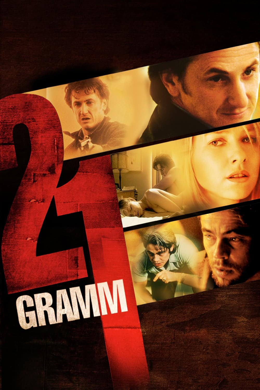 """Plakat von """"21 Gramm"""""""