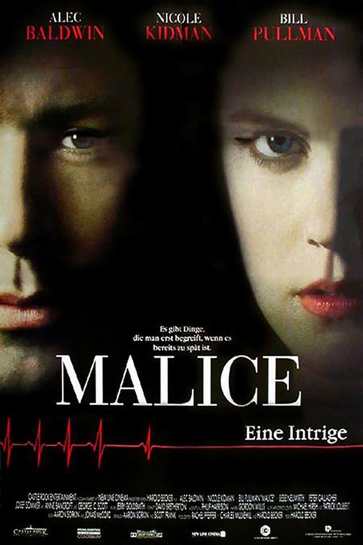 """Plakat von """"Malice - Eine Intrige"""""""