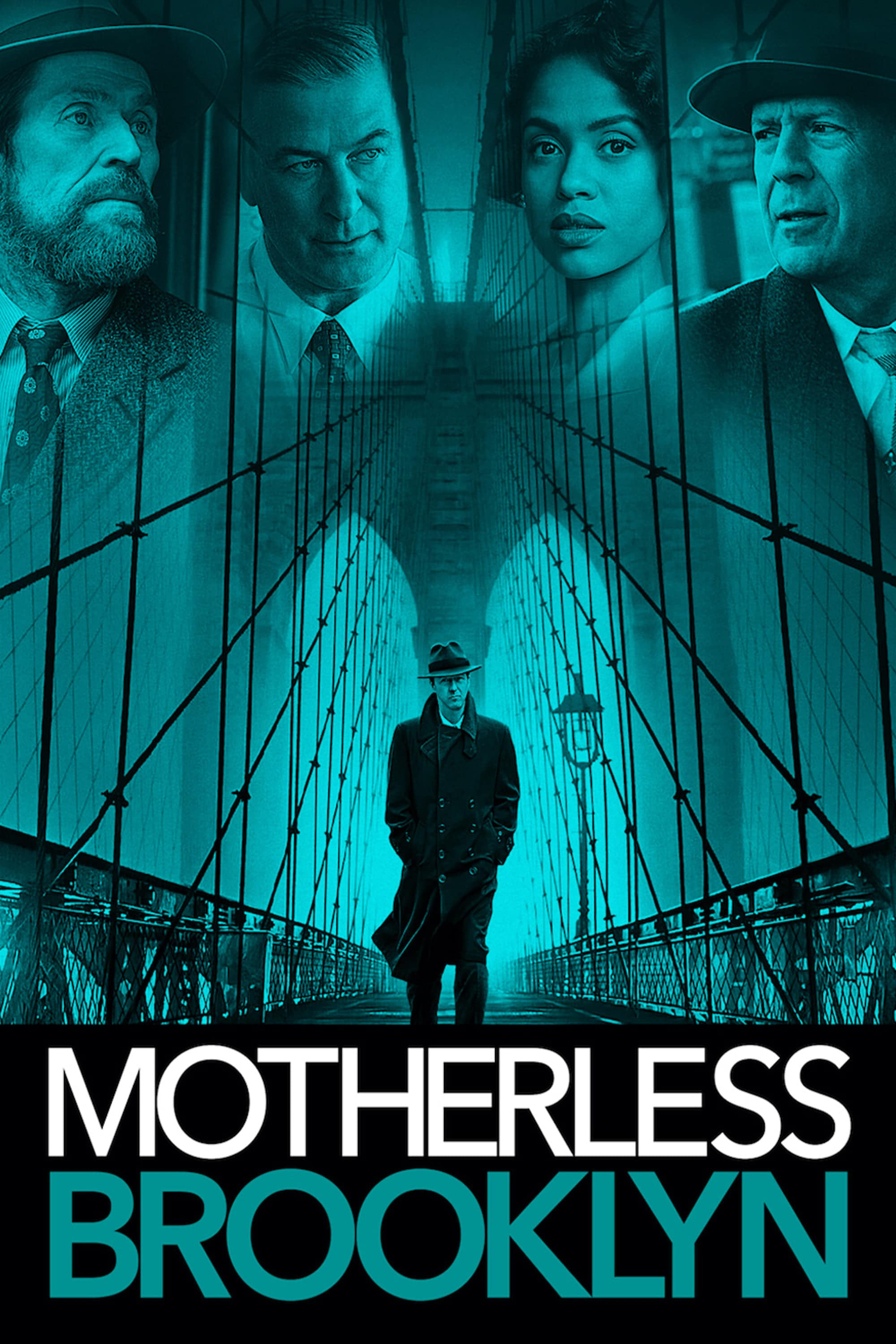 "Plakat von ""Motherless Brooklyn"""