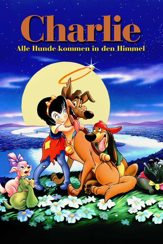 "Plakat von ""Charlie - Alle Hunde kommen in den Himmel"""