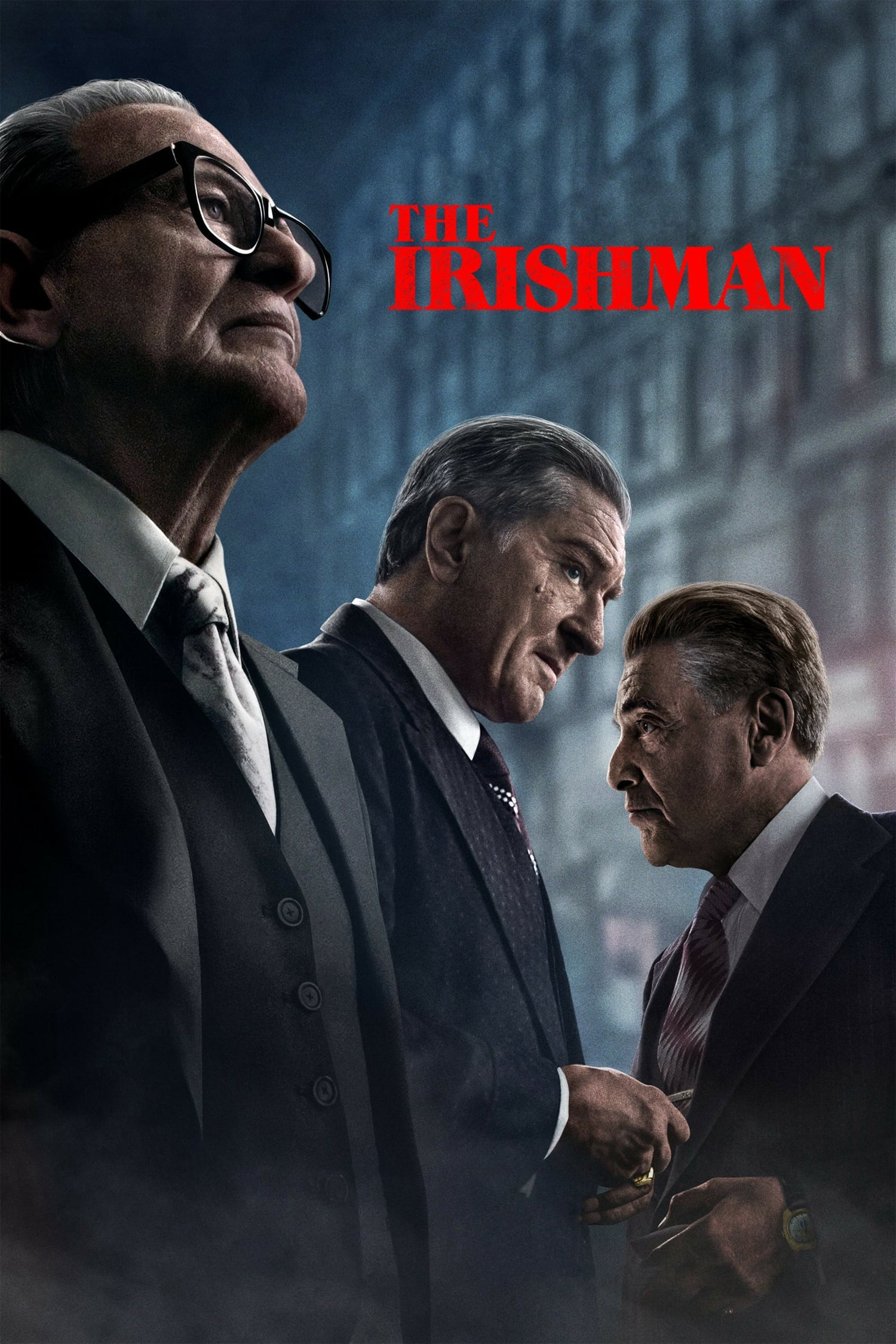 "Plakat von ""The Irishman"""