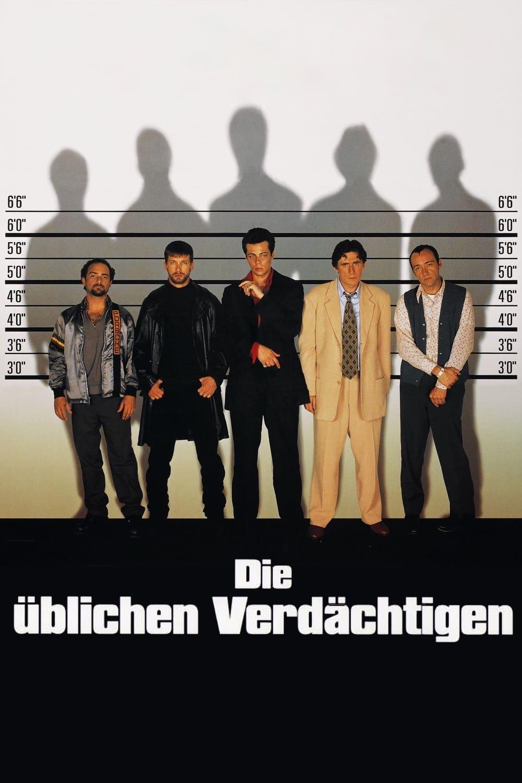 """Plakat von """"Die üblichen Verdächtigen"""""""