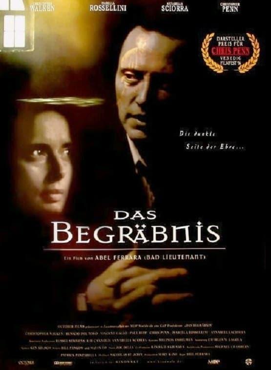 """Plakat von """"Das Begräbnis"""""""