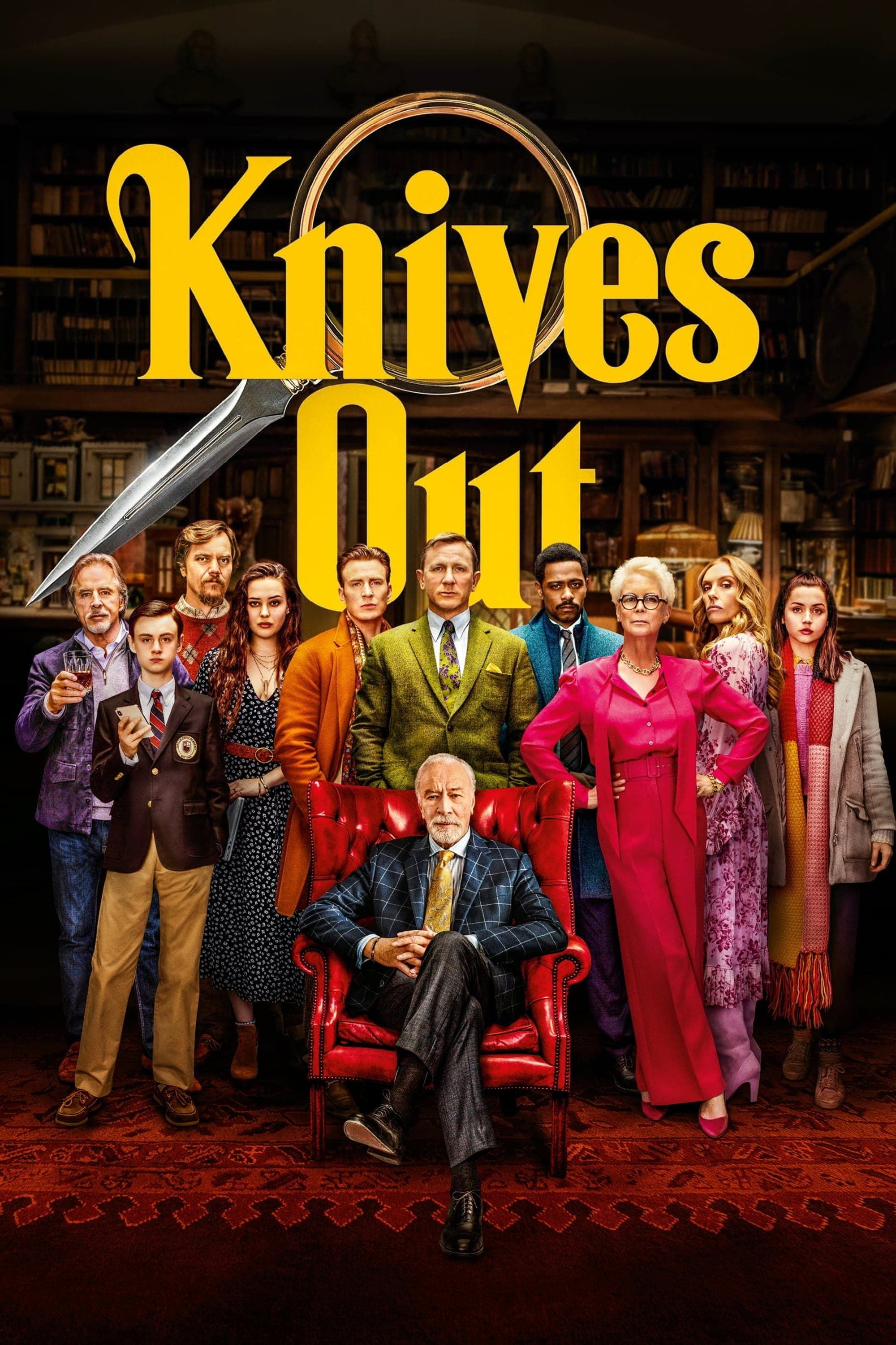 "Plakat von ""Knives Out"""