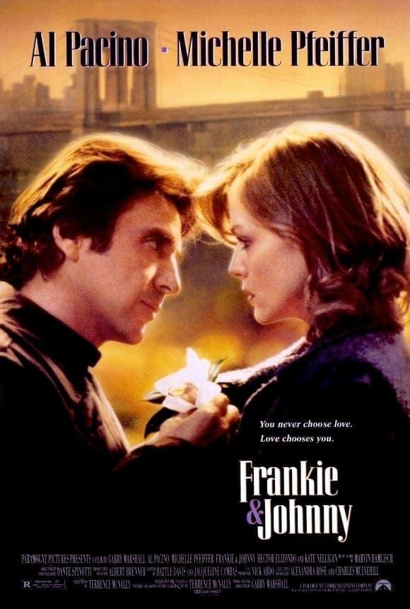 """Plakat von """"Frankie & Johnny"""""""