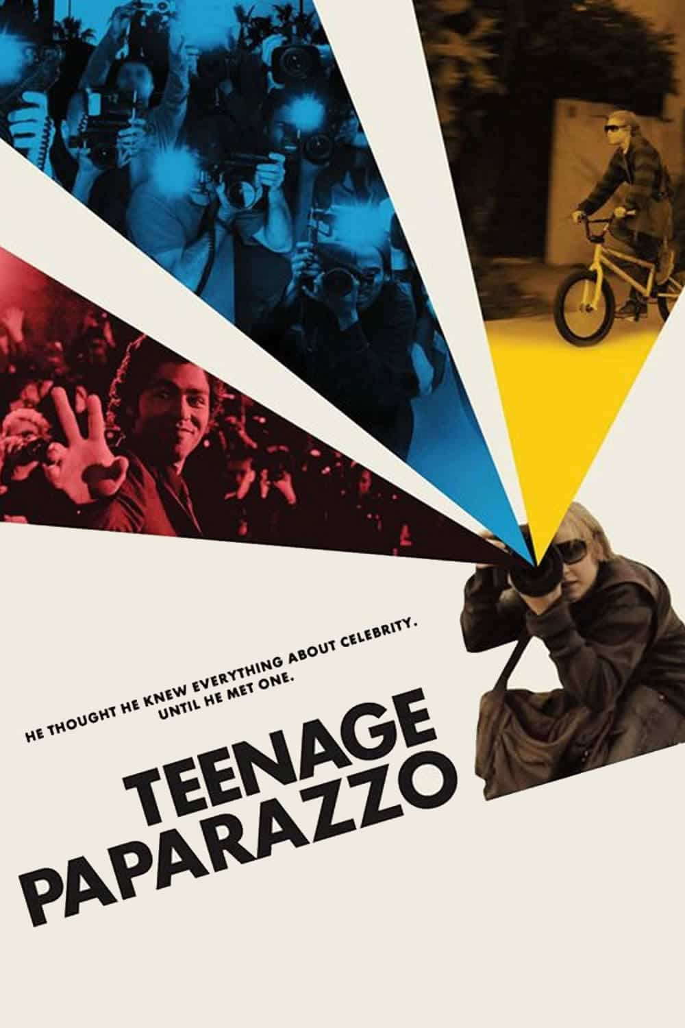 "Plakat von ""Teenage Paparazzo"""