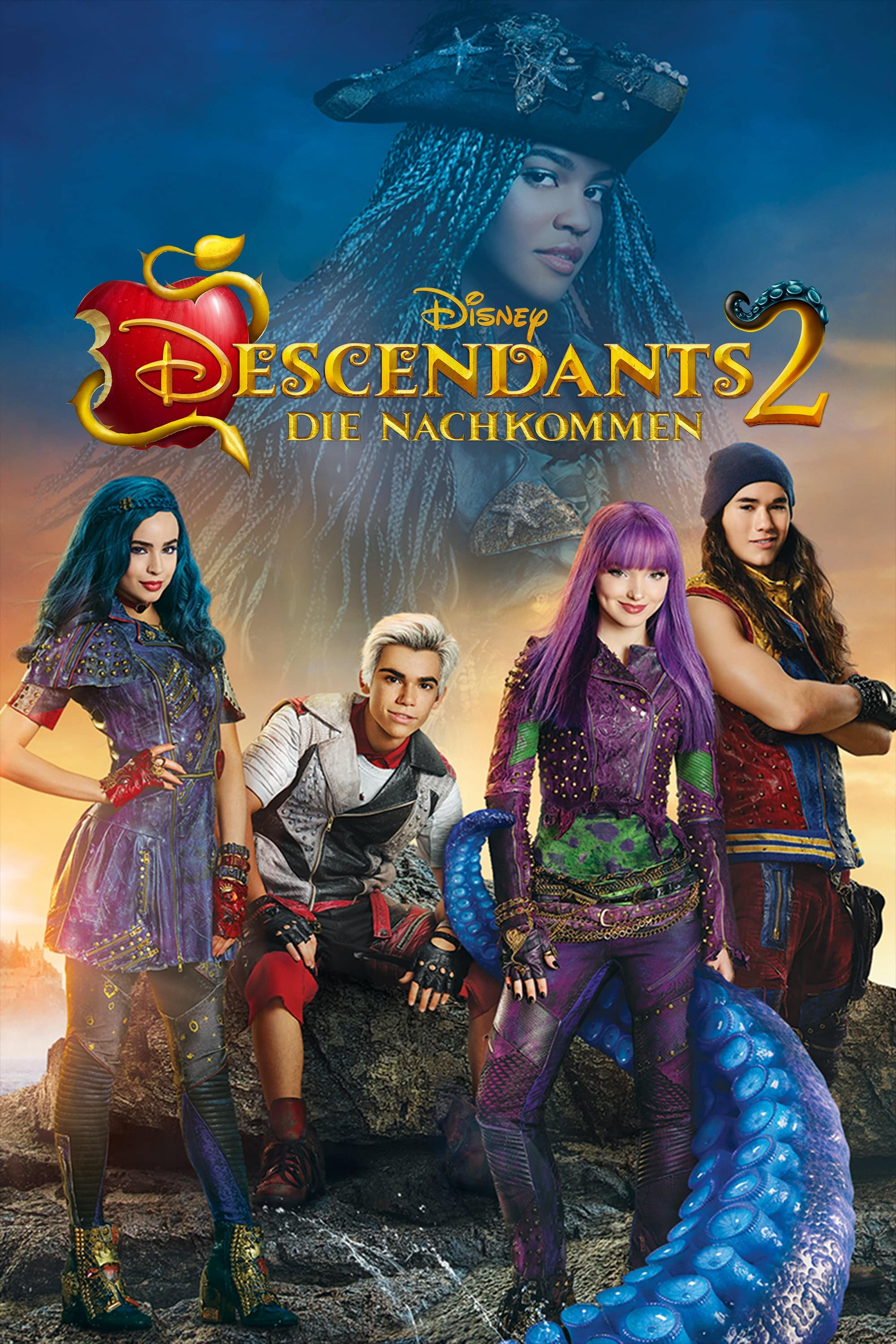 "Plakat von ""Descendants 2"""
