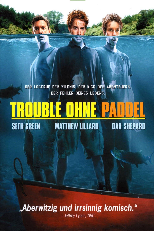 """Plakat von """"Trouble ohne Paddel"""""""