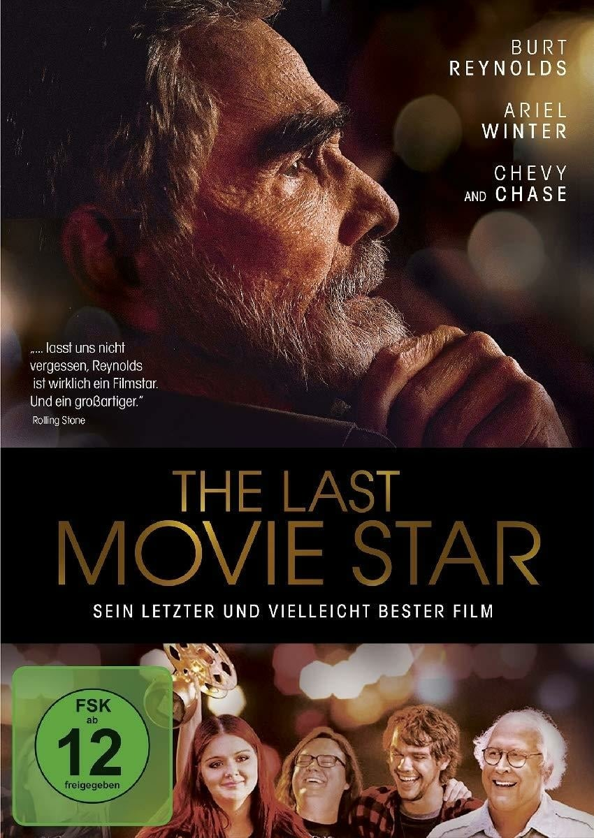 "Plakat von ""The Last Movie Star"""