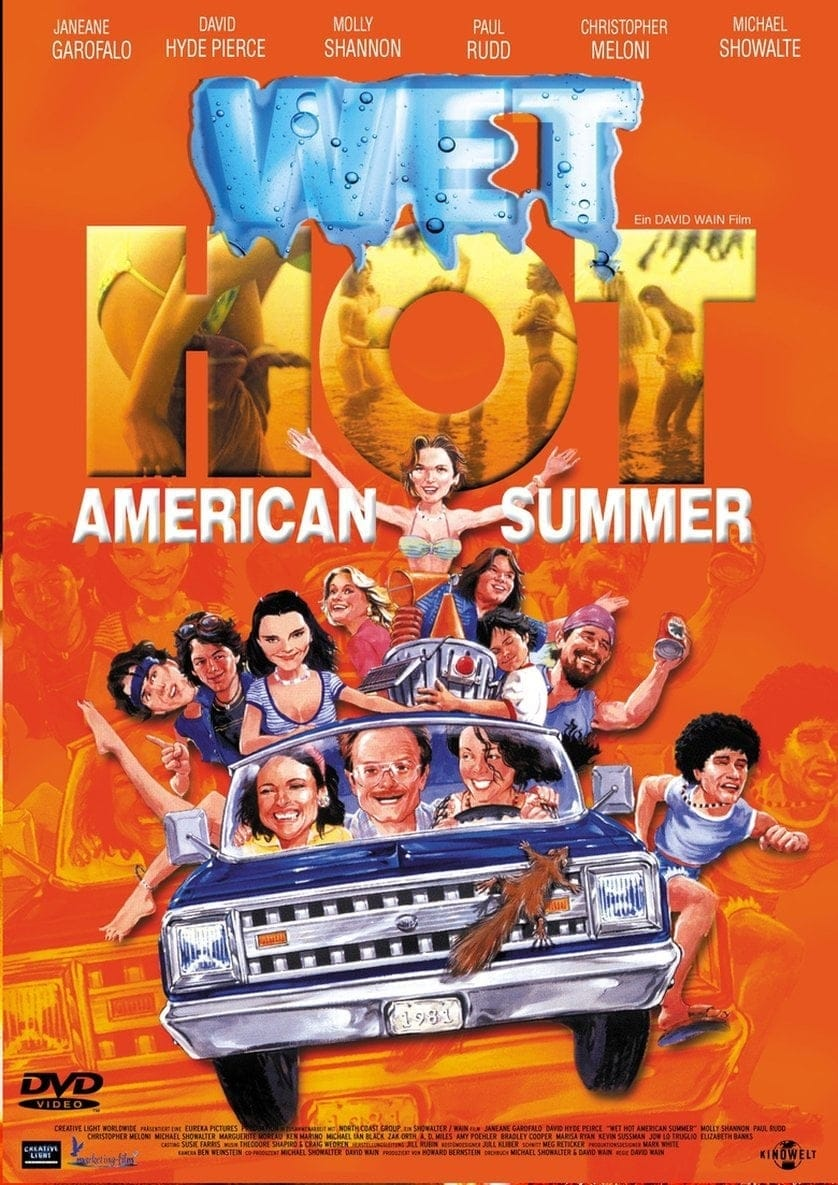 "Plakat von ""Wet Hot American Summer"""