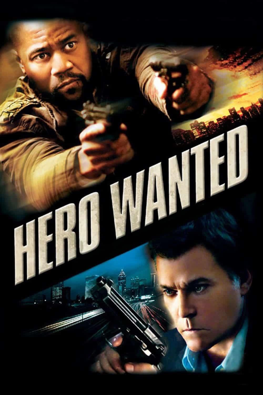 """Plakat von """"Hero Wanted - Helden brauchen kein Gesetz"""""""