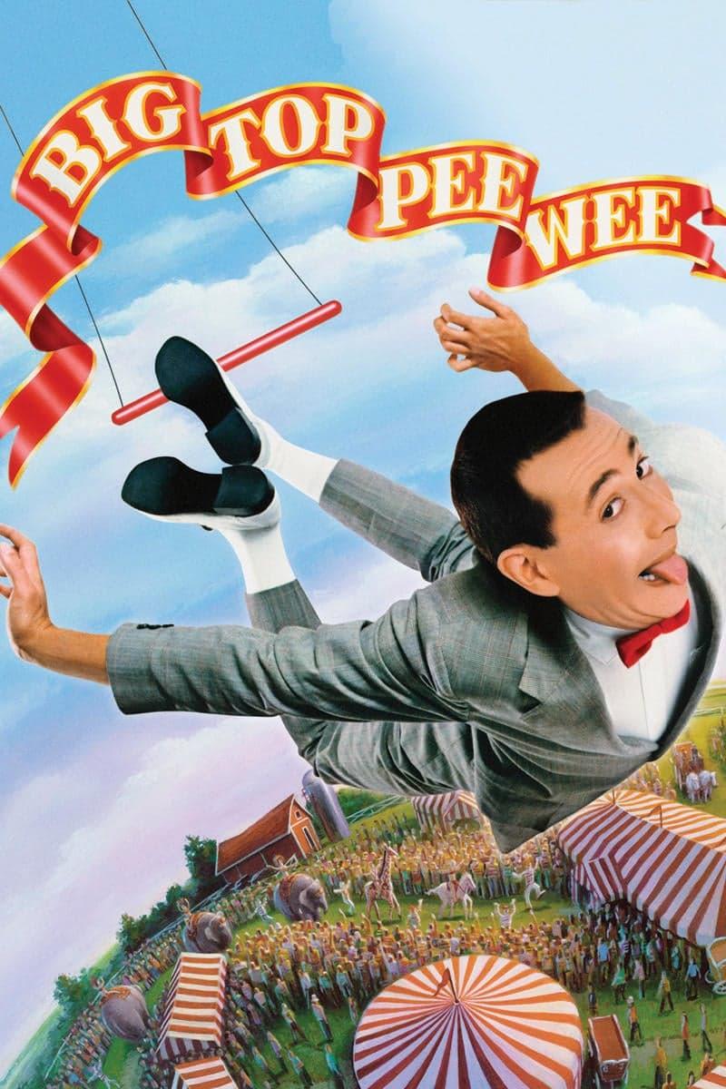 """Plakat von """"Big Top Pee-wee"""""""