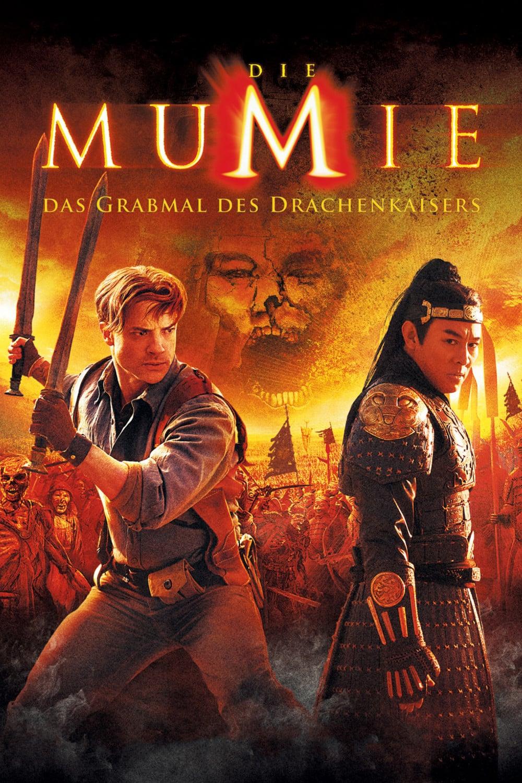 """Plakat von """"Die Mumie - Das Grabmal des Drachenkaisers"""""""