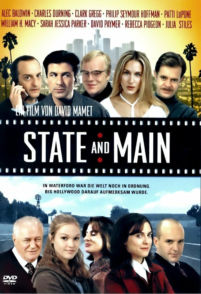 """Plakat von """"State and Main"""""""