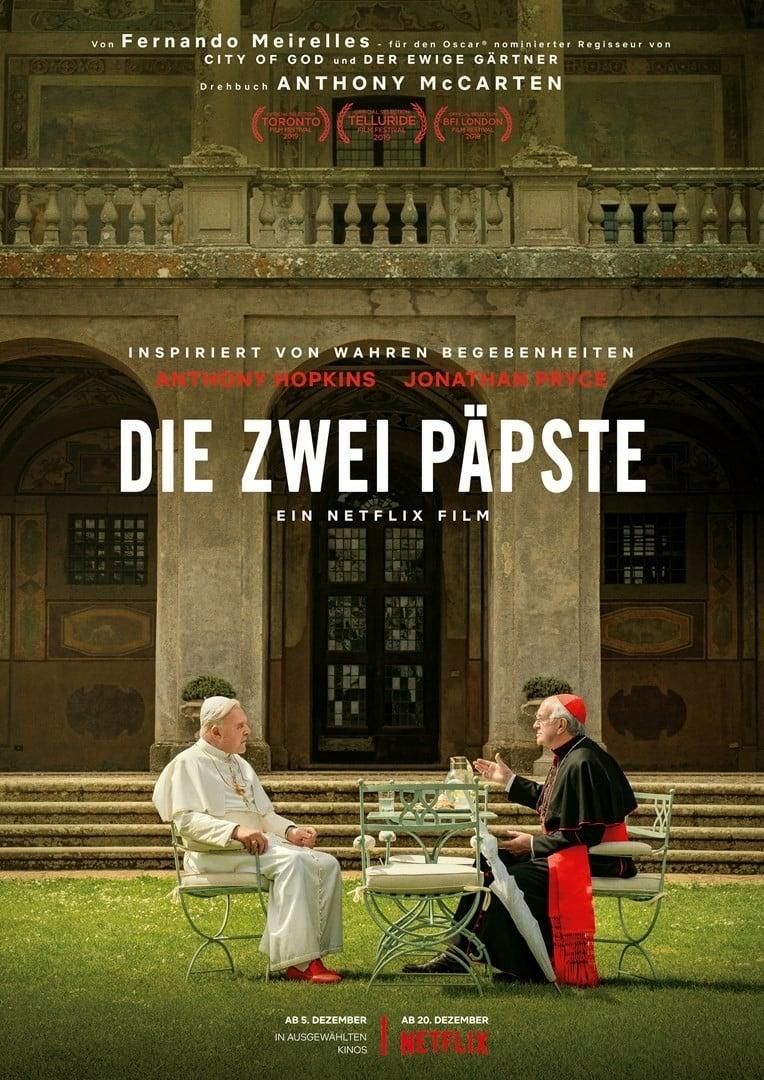 """Plakat von """"Die zwei Päpste"""""""