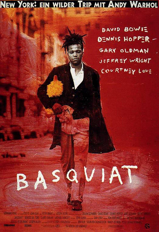 """Plakat von """"Basquiat"""""""