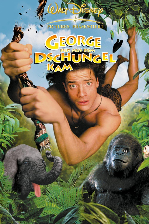 """Plakat von """"George - Der aus dem Dschungel kam"""""""