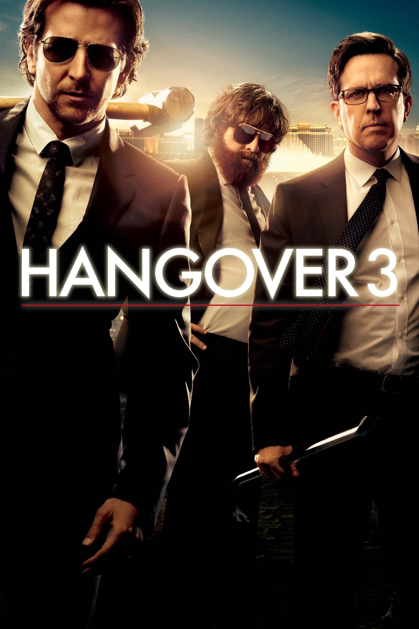 "Plakat von ""Hangover 3"""