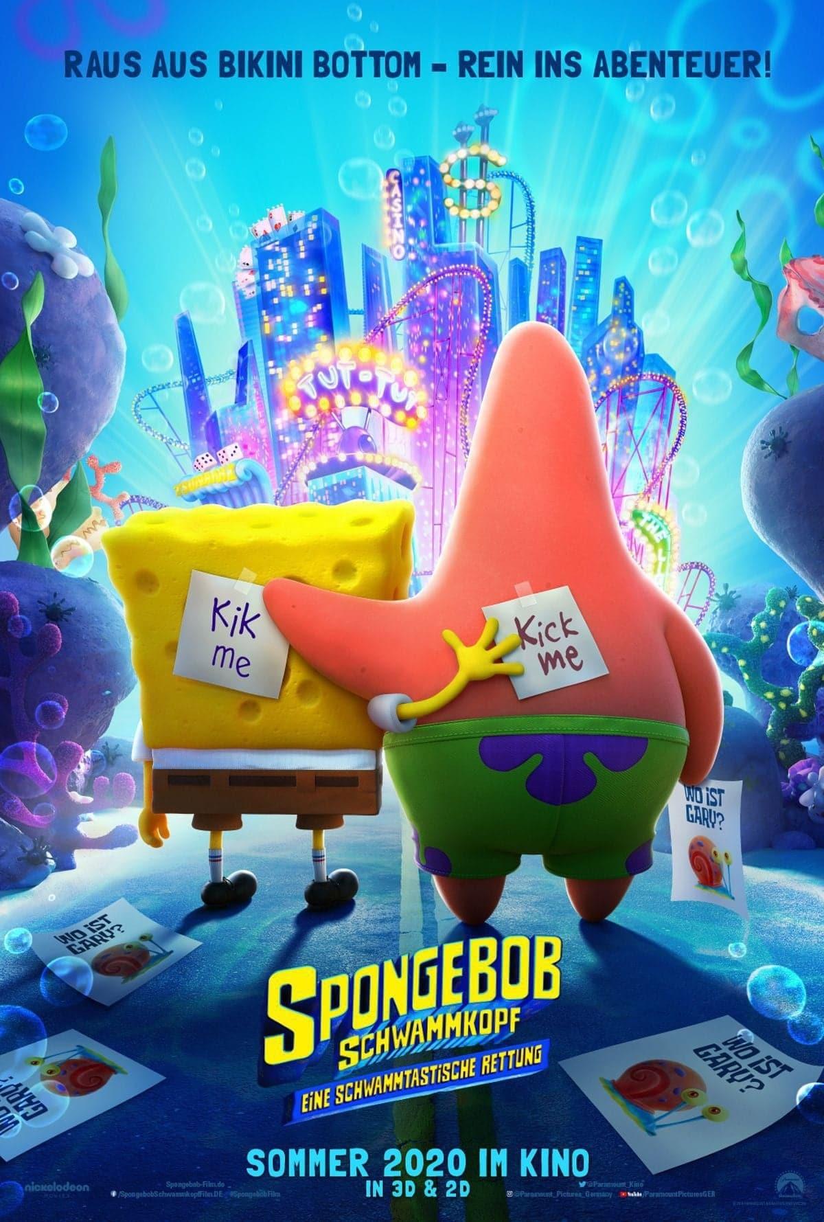 """Plakat von """"Spongebob Schwammkopf: Eine schwammtastische Rettung"""""""