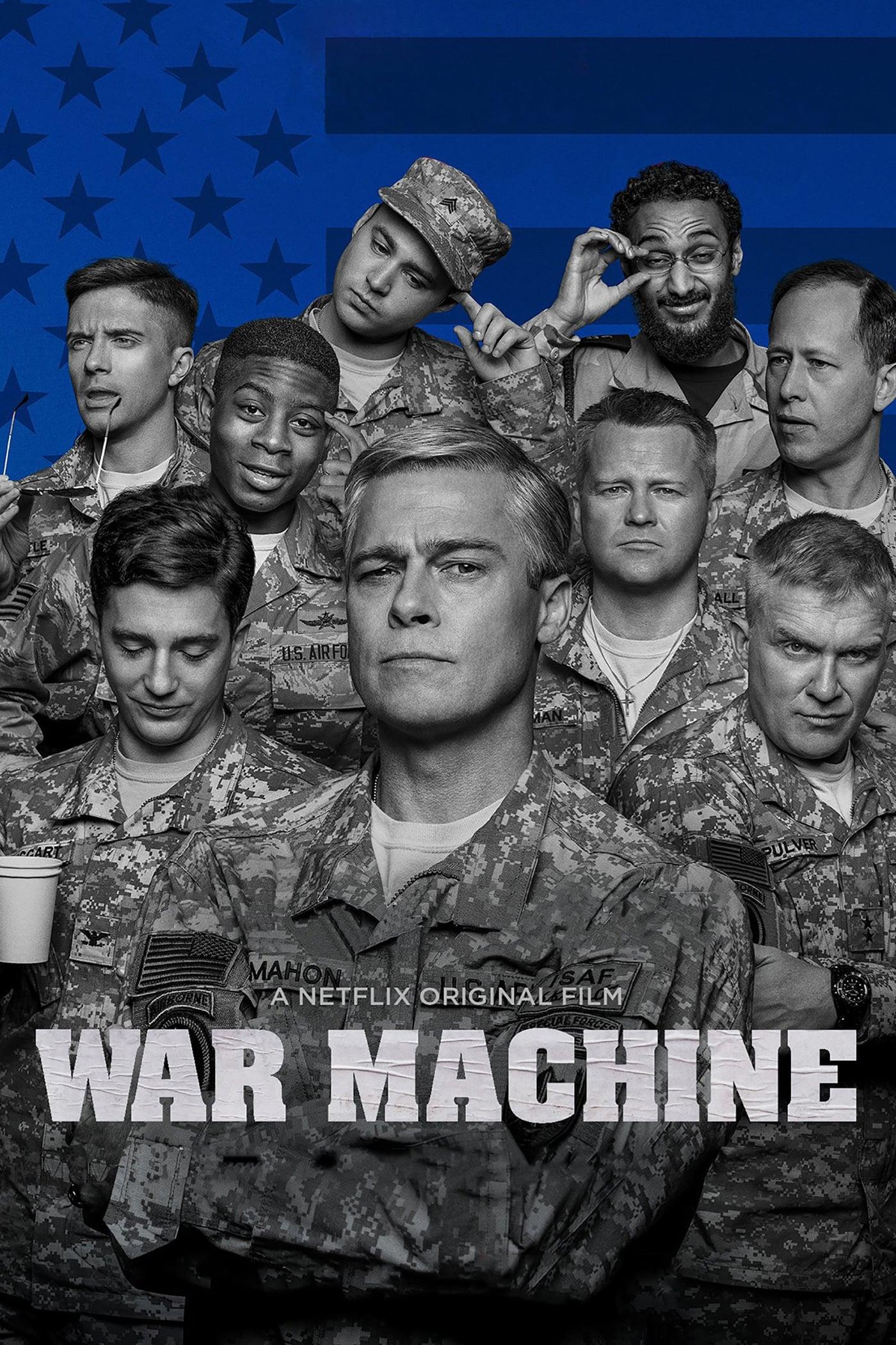 """Plakat von """"War Machine"""""""
