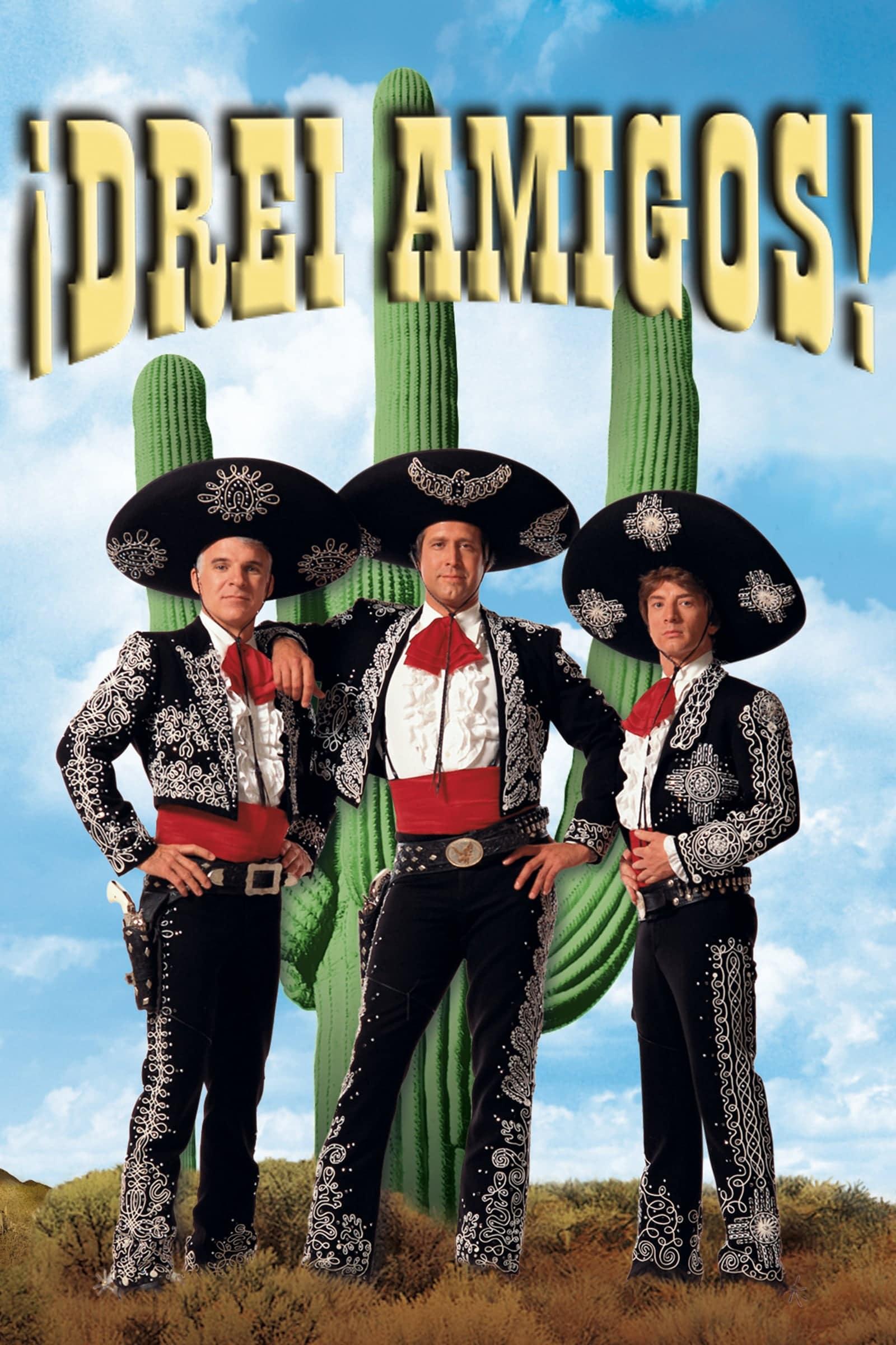 """Plakat von """"Drei Amigos!"""""""