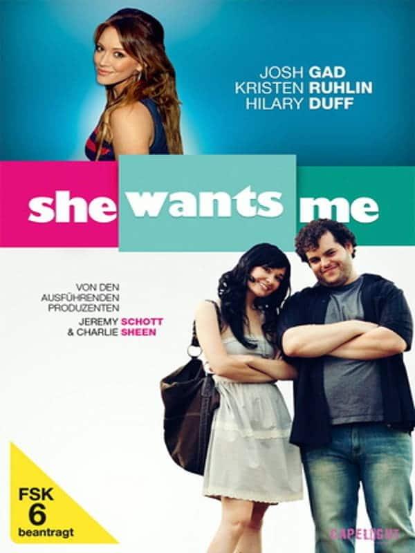 """Plakat von """"She Wants Me"""""""