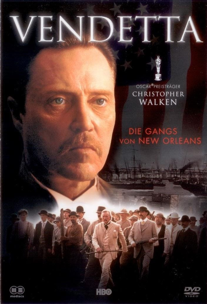 """Plakat von """"Vendetta - Die Gangs von New Orleans"""""""