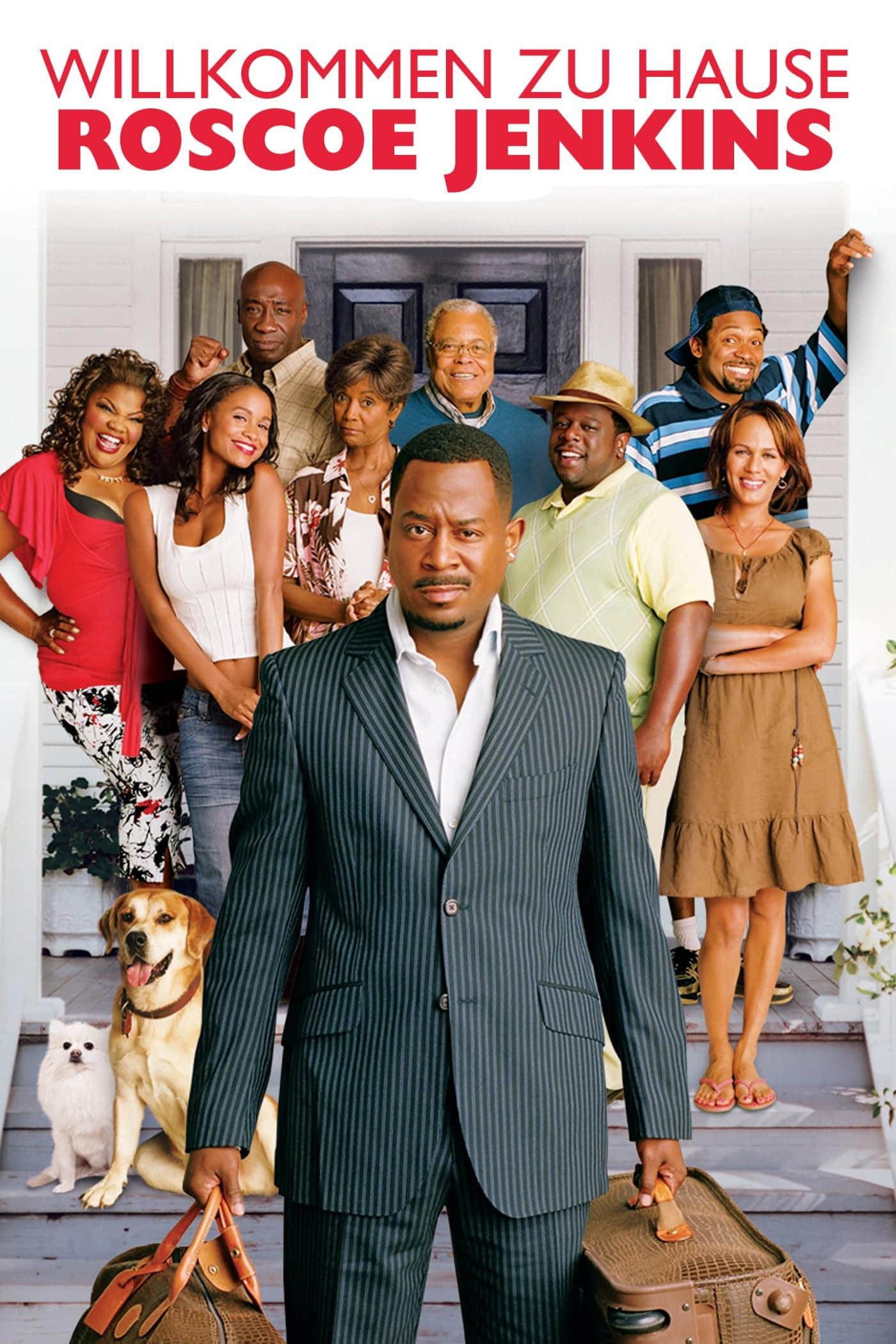 """Plakat von """"Willkommen zu Hause Roscoe Jenkins"""""""