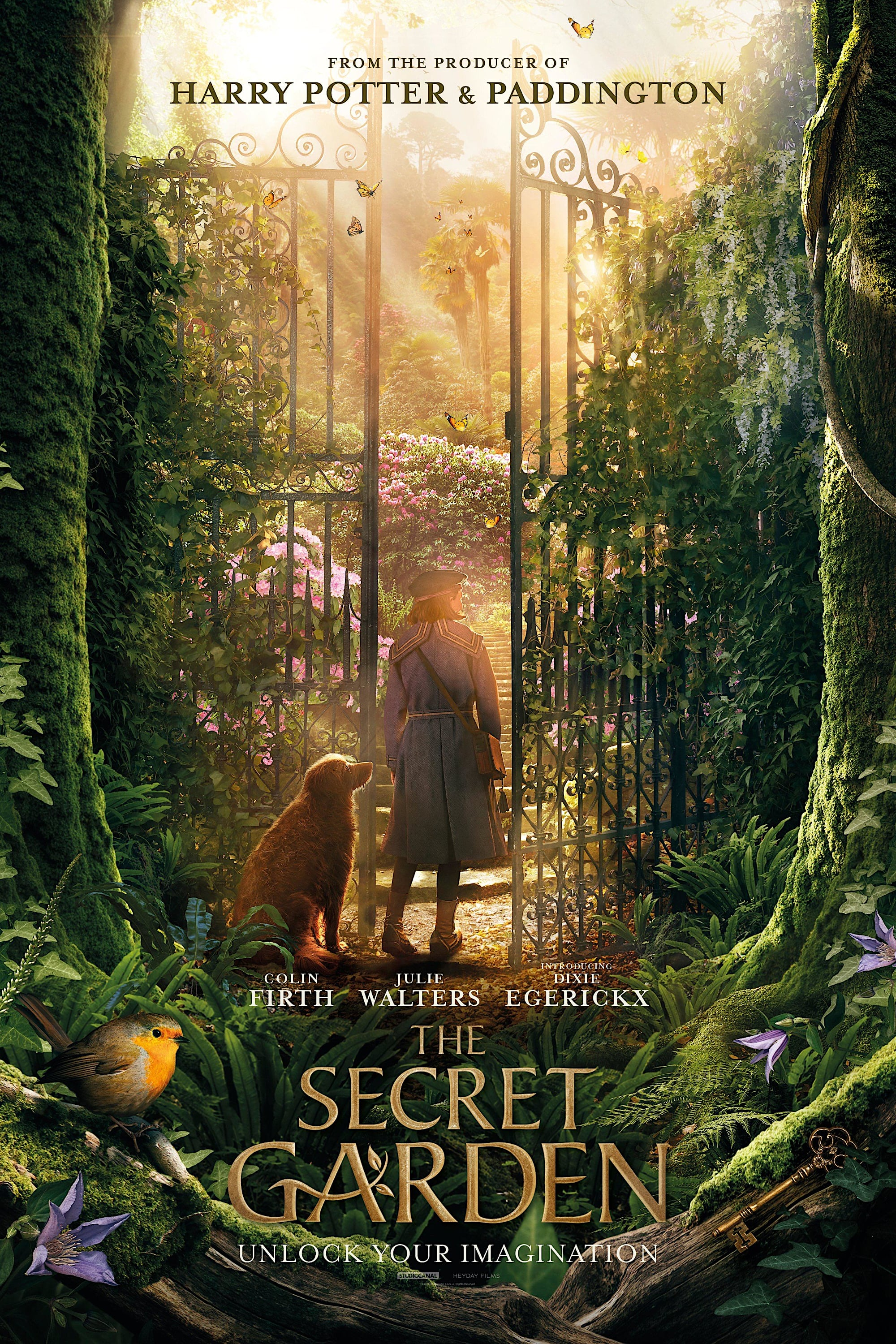 "Plakat von ""The Secret Garden"""