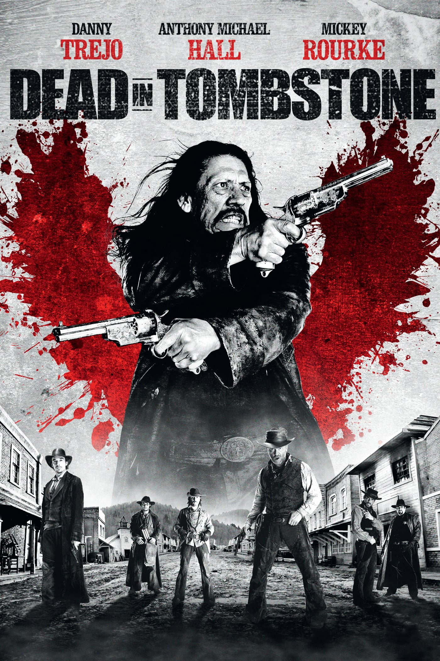 "Plakat von ""Dead in Tombstone"""