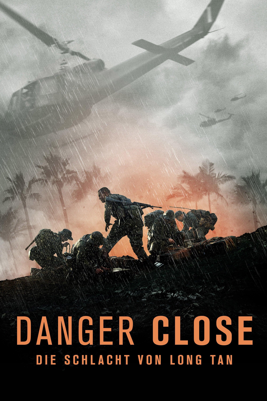 """Plakat von """"Danger Close: Die Schlacht von Long Tan"""""""